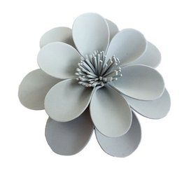 Paper Window Flower Decorations Canada - Handmade Foam Paper Flower For Wedding Backdrops Party & Event Backdround Decoration Stage Deco Windows Display Home Deco Different sizes