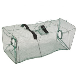 Bait Cages UK - Foldable Crab Fish Crawdad Shrimp Minnow Fishing Bait Trap Cast Net Cage free shipping