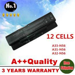 $enCountryForm.capitalKeyWord Canada - Wholesale-WHOLESALE New 12cells Laptop battery For asus N46 n46v N46VJ N56 N56D N56V N76 N76V A31-N56 A32-N56 A33-N56