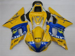 $enCountryForm.capitalKeyWord Australia - 3 free gifts New Hot ABS motorcycle bike Fairing kits 100% Fit For 2000 2001 YAMAHA YZF R1 YZF-R1 2000-2001 YZFR1 00 01 Yellow Blue