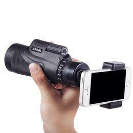 China Easy Shooting 12x50 Hiking Concert Camera Lens Telescope Monocular With No Holder For Smartphone Free Shipping DHL suppliers