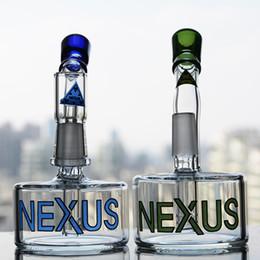Free vapor pipe online shopping - Nexus glass bong oil tire percolator Water Bongs vapor rig glass bubbler oil rig glass water pipe mm joint