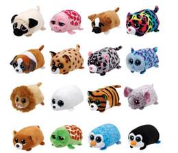 23 Estilos New Tsum Tsum Ty Original Teeny Tys Mabs Girafa Plush Toy 10 cm Stuffed Animal Boneca Boneca Crianças Brinquedo de Presente Do Telefone Mais ...