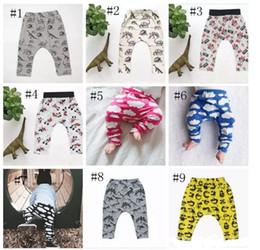 $enCountryForm.capitalKeyWord NZ - Baby Ins Pp Pants Ins Xmas Harem Pants Cotton Deer Moose Cloud Pants Kids Fashion Leggings Girl Tights Newborn Trousers 10 Design A 080