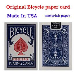 Free magic tricks online shopping - Original Bicycle Poker Blue or Red Regular Bicycle Playing Cards Rider Back Standard Decks Magic Trick
