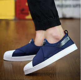 sandals shells 2019 - 2017 New sneakers shoes men and women leather sandals couple cross bind shell head lazy leisure shoes cheap sandals shel
