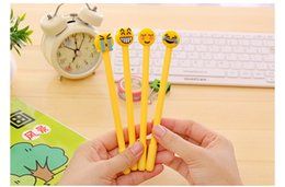 $enCountryForm.capitalKeyWord NZ - DHL emoji gel pen 4 types expressions pen cartoon children gift for kids school supplies for office students writing stationery hot sale