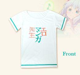 $enCountryForm.capitalKeyWord NZ - 2017 New Anime Eromanga Sensei T-shirts Figure Izumi Sagiri Cosplay Costumes T-shirt Summer Top Tee New S-XL 2017 free shipping