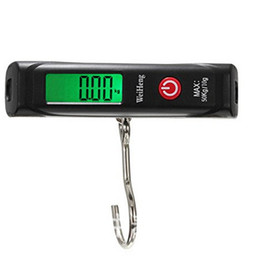 "black kitchen scales Canada - The factory sells black 50kg baggage, it is called ""home portable electronic lage scale"" and ""express electronic scale"""