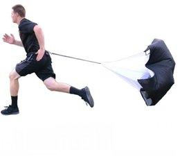 Umbrellas rUnning parachUtes online shopping - 1 m Adjustable Speed Training Resistance Parachute Speed Chute Running Umbrella parachute for running Football Training