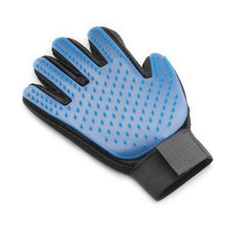 pet grooming glove UK - armipet Dog Massage Gloves Clean Hair Comb Pet Massage Brush Dogs Massages Comb 6062023 Pets Grooming Supplies