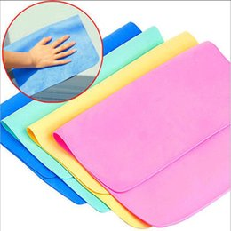 Discount car clean tools - Multi-functional Deerskin Wiping Towel Cleaning Cloths Home Household Clean Towel Auto Car Window Wash Tools 42.7*31.7 c
