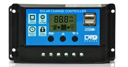 timer panel 2019 - New Black Controllers 10A Solar Panels Battery Charge Controller Automatic Conversion Amps Lamp Regulator Timer Factory