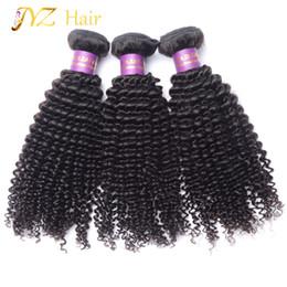 $enCountryForm.capitalKeyWord Canada - JYZ Virgin Hair Weave Kinky Curly Brazilian Unprocessed 100% Human Hair Weave 3 Pcs Lot 8-30 Inches Hair Bundles