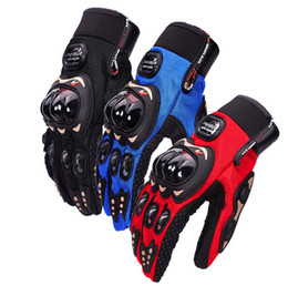 bikers leather gloves Australia - PRO-BIKER Motorcycle Gloves Moto Racing Motorbike Motocross Motor Riding cycling Motorcycle Gloves Winter Protective Gloves Non-Slip gloves