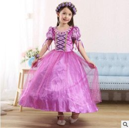 Costumes De Style Vestimentaire Princesse Pas Cher-Halloween Party Evening Costume Children Cosplay Dress Robes de fête Girl Princess Dress Vêtements enfants Vêtements enfants Robes filles