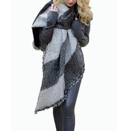 $enCountryForm.capitalKeyWord Canada - Hot Sale 2017 Autumn Winter Women Fashion Blanket Scarf Female Cashmere Pashmina Wool Scarf Shawl Warm Thick Scarves Cape Wraps