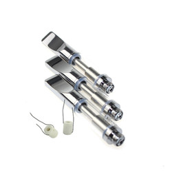 Touch oil online shopping - Ceramic coil Pyrex glass Cartridges Bud Touch CE3 Tank Vaporizer O pen atomizer Vapor WAX thick Oil e cigs Vape