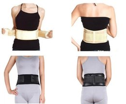 $enCountryForm.capitalKeyWord Canada - Health Care Magnetic Slimming Lower Back Waist Support Support Waist Lumbar Brace Belt Strap Backache Pain Relief