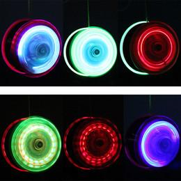 Metal Yoyo For Kids Australia - Random color ! High Speed YoYo Ball Luminous LED Flashing Yo Yo Child Clutch Mechanism Yo-Yo Toys for Kids