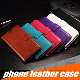 Vente en gros Portefeuille PU Housse Etui en cuir avec fente pour carte Cadre photo pour Iphone XR XS MAX X Galaxy Note8 S9 S8 Plus