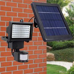 Sensor PIR Motion Led Floodlights Outdoor Led Solar Lights Waterproof Led Flood  Lights 9V 10W Garden Lawn Light 12v Solar Flood Lights For Sale