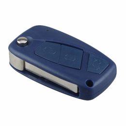 China Guaranteed 100% Remote Key Shell for FIAT Punto Ducato Stilo Panda Idea Doblo Bravo Keyless Fob Case Car Alarm Cover Housing Free Shipping suppliers