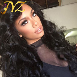 Peruvian body wave wig light brown online shopping - Full Lace Wig Loose Wave Lace Front Wigs Human Hair Wig Body Wave brazilian virgin hair full lace wigs