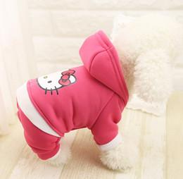 $enCountryForm.capitalKeyWord NZ - Sport Casual Autumn Winter Pet Dog Cotton Jumpsuit Captain America Pattern Small Medium Dog Four Legs Coat Free Shipping