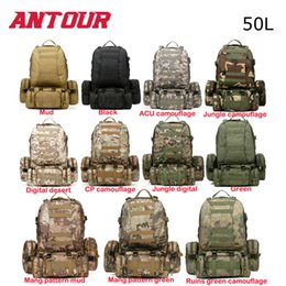 $enCountryForm.capitalKeyWord Canada - Free Shipping 11 Colors New Large 50L Molle Assault Tactical Outdoor Military Rucksacks Backpack Camping Bag