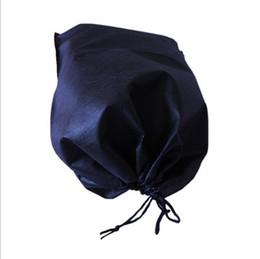 $enCountryForm.capitalKeyWord Canada - Wholesale- 39*30cm High quality non woven bag shopping bag Thicken non-woven drawstring bags for clothes storage Travel bag dust bags