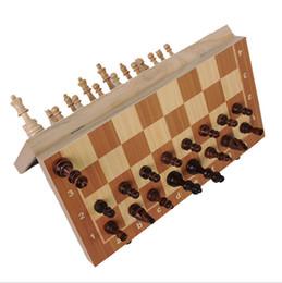 de47bba225d Xadrez de jogo on-line-2017 Engraçado Dobrável Folable Jogo De xadrez De  Madeira