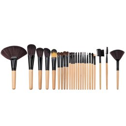 $enCountryForm.capitalKeyWord UK - 24pcs set Makeup MINI Brush Set tools Make-up Toiletry Kit Wool Cosmetic brush OEM NO LOGO 10SET G24001