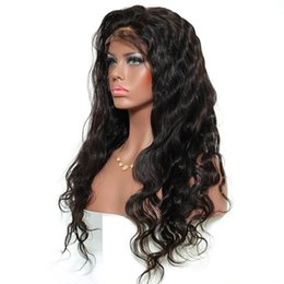 Chinese  Black Wig Body Wave High Temperature Fiber Hair Glueless Synthetic Lace Front Wig With Baby Hair For African American Wigs manufacturers