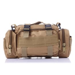 Army style messenger bAg online shopping - Traveling Army Bag Heavy Duty Bags Unise Outdoor Military Style Camera Waist Pack Tactical Large Messenger Waistpack Versatile Pocket js J