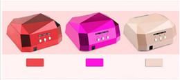 $enCountryForm.capitalKeyWord Canada - 36W UV LED Ultraviolet Lamp Nail Dryer Nail Lamp Diamond Shaped CCFL Curing for UV Gel Nails Polish tools