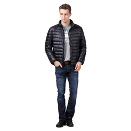Discount Down Feather Jackets For Men   2017 Feather Down Coats ...