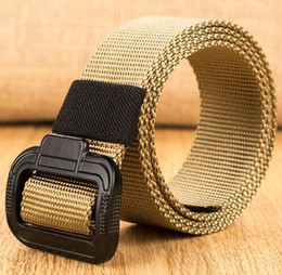 Green Plastic Army Men Canada - Men Army Tactical Belts 2019 Mens Military Waist Canvas Belts for Men Waistband High Quality Strap homme Equipment Cinturon Belt
