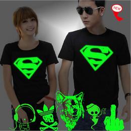 t shirt flashing light 2019 - Wholesale- XXXL 3D T-Shirt Men Lovers Luminous Tee Shirt homme Summer Print Tops Man Light Fluorescent Personalized Bran