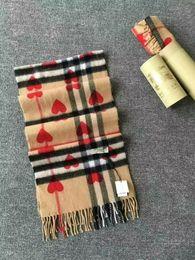 Plaid Houndstooth Scarf Cotton Australia - 2019 Winter Luxury 100% Cashmere Scarf Men and Women Designer Classic Big Plaid Scarves Pashmina Infinity Scarfs