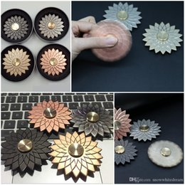 Shop big lotus flower uk big lotus flower free delivery to uk lotus flower metal fidget spinners decompression anxiety toys stress reduce hand spinner toy gold rose gold gray black with retail box mightylinksfo
