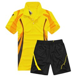 $enCountryForm.capitalKeyWord UK - Ncolorful badminton sets Women Men,Badminton clothes,table tennis clothes sets,sport Tracksuits,sportswear badminton shirt + shorts