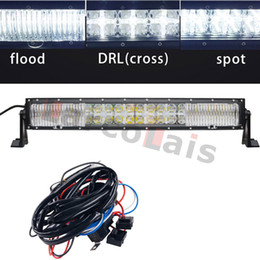 $enCountryForm.capitalKeyWord Canada - 22 inch Combo Beam 7D Curved 200W with DRL LED Work Light Bar+Wiring Kit for Off-Road Trailer Boat Tractor 4WD 4x4 Truck SUV ATV