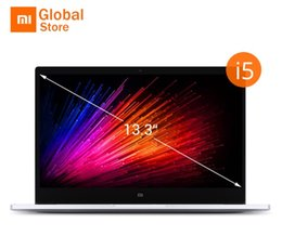 China Intel Laptop Canada - Original Xiaomi Mi Notebook Air 13.3 Inch Fingerprint Recognition i5-7200U Intel Core 8GB 256GB SSD Windows 10 Ultrabook Laptop