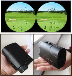 laser height Australia - Freeshipping 500m Golf Laser Rangefinder 6X24 Laser Rang Finder Laser Angle Height Finder with Pinseeker Slope Memory Function for Golf