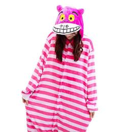 02e5e9655ffe Cheshire Cat Onesies Unisex Sleepsuit Adults Cartoon Pajamas Cosplay  Costumes Animal Onesie Sleepwear Winter Warm Jumpsuit