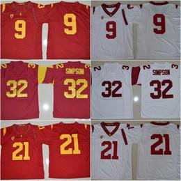 4620ca07b62 ... White Mens Nike Junior Seau USC Trojans 55 Replica Red Alumni Football  Jersey USC Trojans 32 O.J. ...