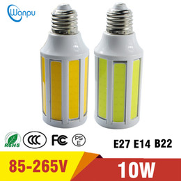 replacing incandescent bulbs 2019 - LED Bulb E27 12W COB LED Corn lamp AC110V Replace Incandescent Chandelier Light Warm Cold White For Indoor lighting disc