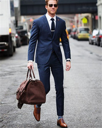 Navy Blue Skinny Fit Suits Online | Navy Blue Skinny Fit Suits for ...