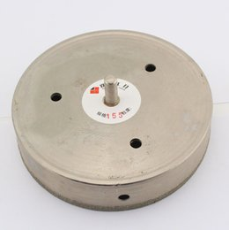 "Glass Hole Saw Bit UK - 6.1"" 155mm Diamond Coated tool Drill Bit Hole Saw Glass Tile Ceramic Marble"